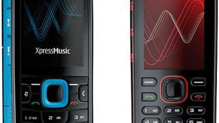 Nokia пуска новите музикални модели 5320 и 5220 XpressMusic (галерия)