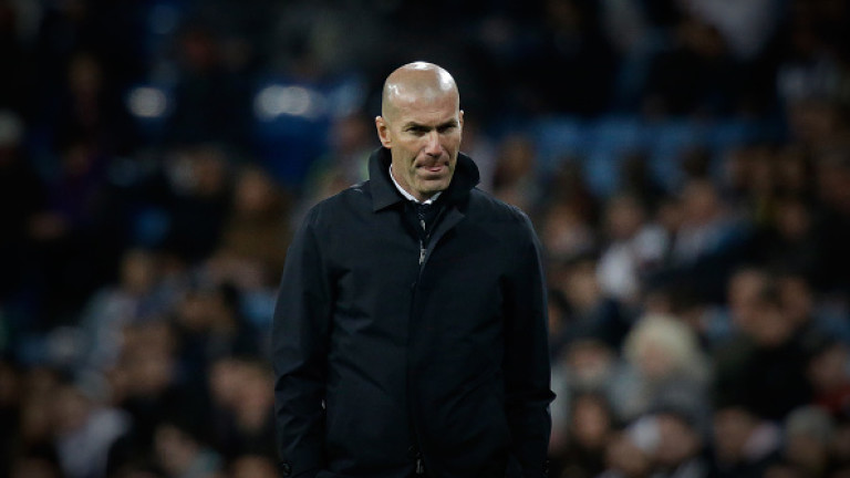 Зинедин Зидан: Реал (Мадрид) се бори докрай, не мога да виня играчите