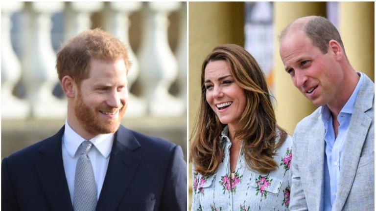 Закачката на Уилям и Кейт с Хари