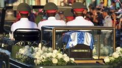 Погребаха Фидел Кастро