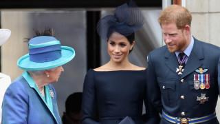 Необичайният поздрав на Хари и Меган към кралицата