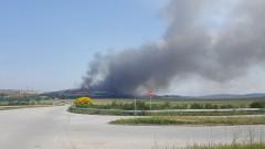 Продължава да гори сметището в Дупница