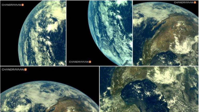 Втората мисия на Индия до Луната, Chandrayaan-2, която започна на