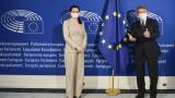 От Брюксел Светлана Тихановска призова ЕС да наложи санкции на Беларус