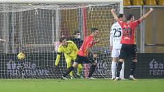Ювентус без Роналдо се измъчи срещу Беневенто и стигна само до точка