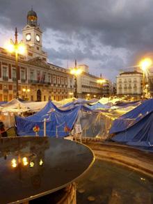 Хиляди на протест в Испания