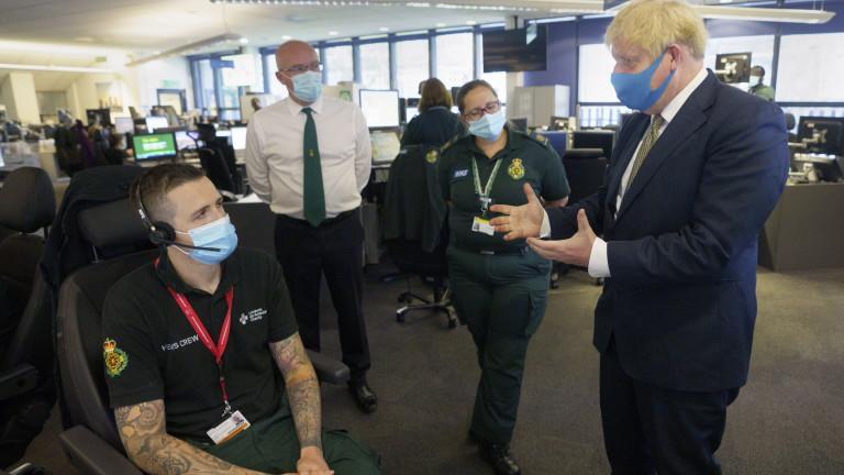 Премиерът на Великобритания Борис Джонсън заяви, че хората трябва да