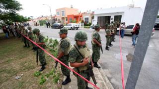 Кървава драма в мексикански град