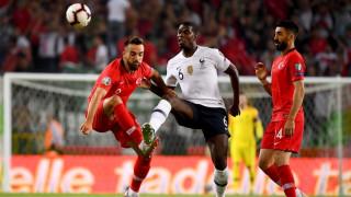 Турция - Франция 2:0, гол на Дженгиз Юндер