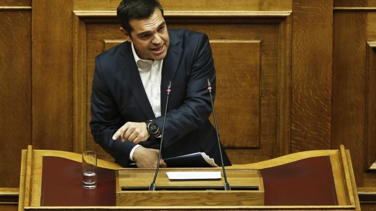 Опозицията в Гърция внася вот на недоверие срещу Ципрас за сделката с Македония