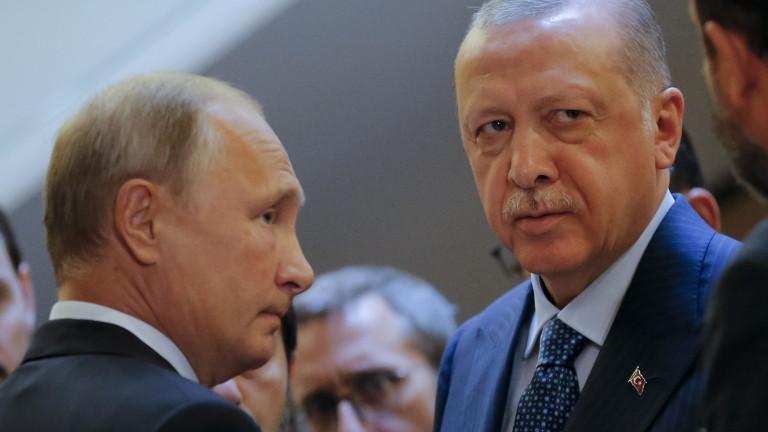 Турският президент Реджеп Тайип Ердоган заяви, че сътрудничеството между Турция