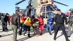 Силно вълнение обърнало товарния кораб край Турция