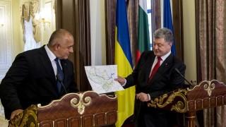 Борисов и Порошенко се разбраха за транспортния коридор между Варна и Одеса