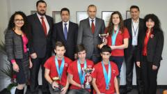 Математици от СМГ се върнаха с 4 медала от Индонезия