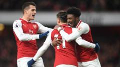 Арсенал се завърна в Топ 4 с успех над Нюкасъл