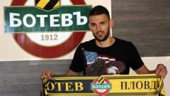 Стоянов: Трябваше ми време, за да свикна в Ботев
