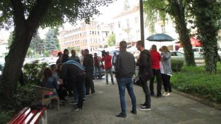 В Гоце Делчев отново протестираха срещу високите цени на горивата