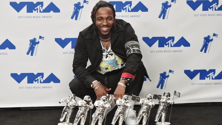 Кендрик Ламар взе най-много награди от MTV