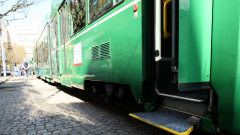 Два трамвая се удариха в центъра на София