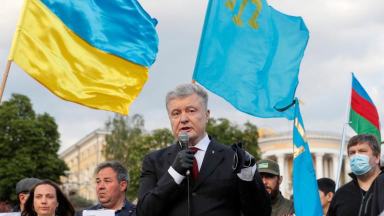 Записи от разговори на бившия президент на Украйна Петро Порошенко