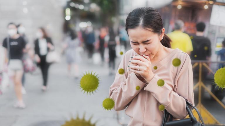 Заразяване с коронавирус навън се случва рядко, но не и невъзможно