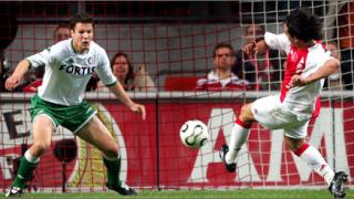 Аякс победи Грьонинген в първия плейоф
