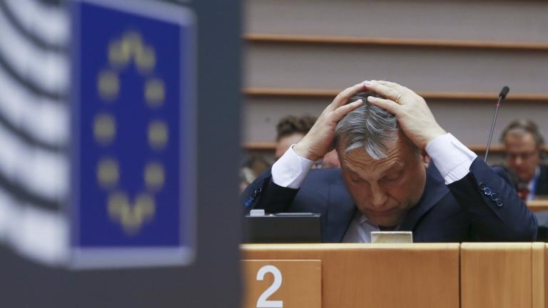 Европарламентът подкрепи Унгария да бъде лишена от глас в Европейския съвет