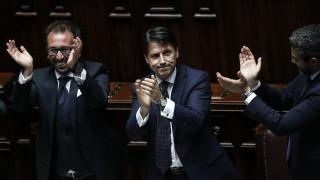 Италианското правителство спечели вот на доверие