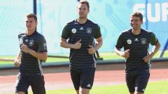 Германия без ключов играч срещу Азербайджан
