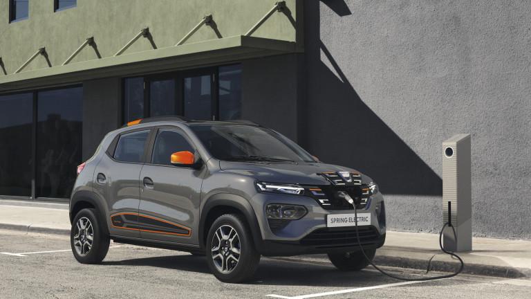 По време на лайвстрийм събитие Dacia показа своя първи електромобил,