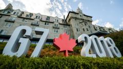 Малко емоции, но цивилизовани и дипломатични разисквания за търговията на Г-7