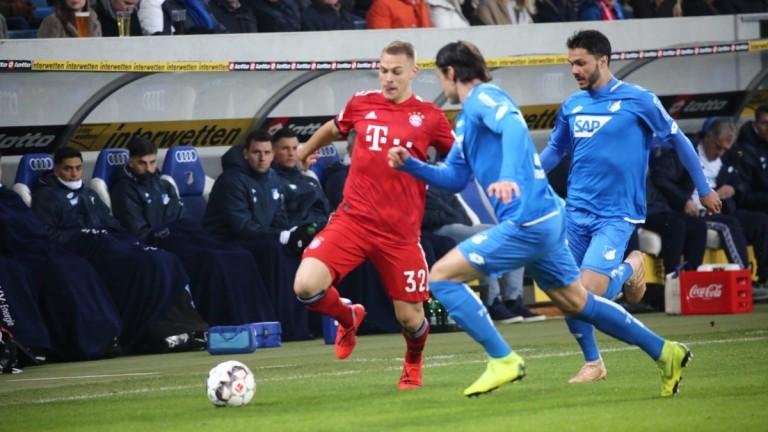 Хофенхайм - Байерн (Мюнхен) 1:3, Левандовски с решителен гол!