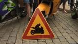 Със знак по пътищата предупреждават за мотоциклетисти