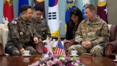 Южна Корея и САЩ не могат да се разберат за целите на военните учения