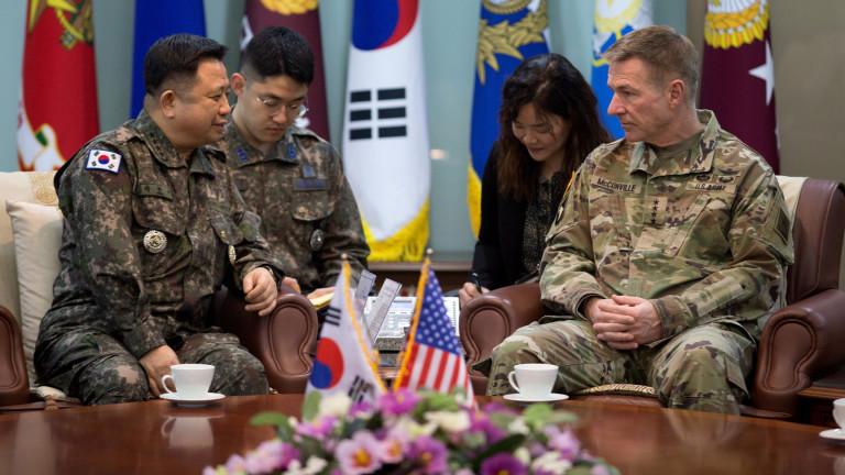 Южна Корея и САЩ се опитват да постигнат съгласие по