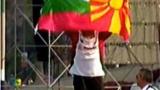 """Българин развя македонското знаме на """"Дакар"""""""