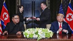 Медийно затъмнение в Северна Корея за историческата среща между Ким и Тръмп