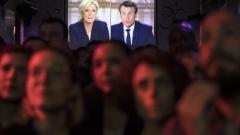 Макрон спечели телевизионния дебат срещу Марин льо Пен