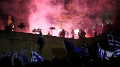 Арести и протести в Атина