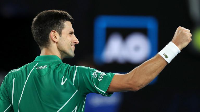 Новак Джокович се класира за втория кръг на Откритото първенство