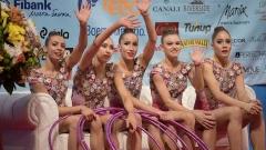 Десет медала за България на Световната купа по художествена гимнастика (СНИМКИ)