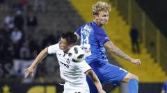Богдан Вашчук отново тренира с Левски