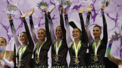 Гимнастичките от ансамбъла спечелиха световната титла в многобоя