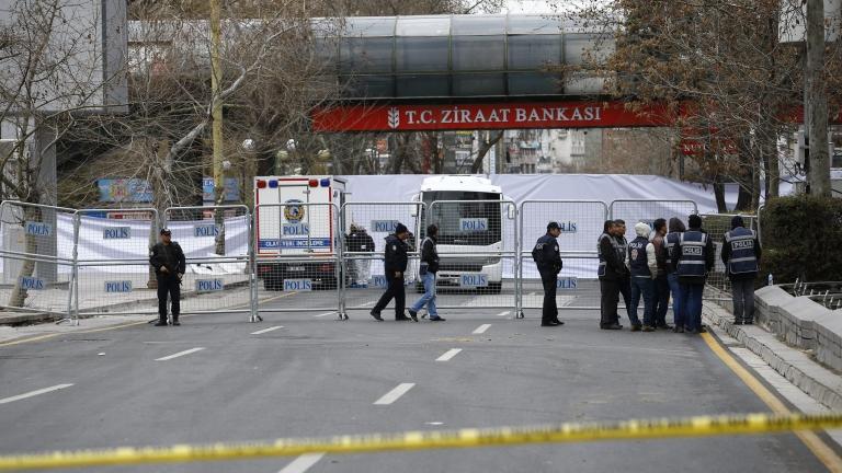 Силна експлозия в Анкара