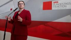 Социалдемократите в Германия очакват 60 на сто подкрепа за коалиция с Меркел