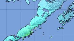 Земетресение от 6,9 удари и Аляска