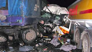 Шофьор на турски ТИР загина при катастрофа