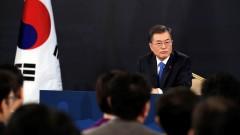 Президентът на Южна Корея иска да се срещне с Ким Чен-ун