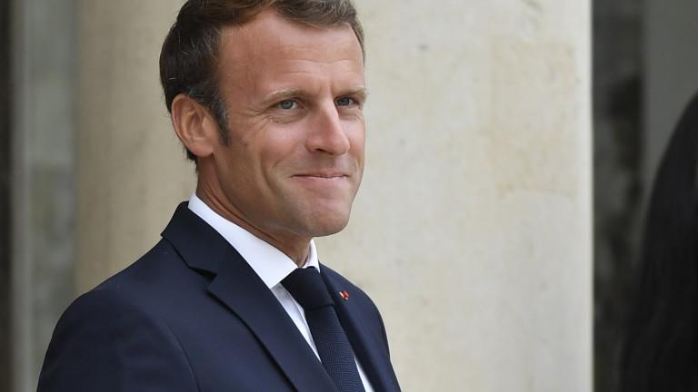 Президентът на Франция Еманюел Макрон заяви, че Франция трябва да