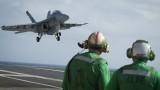 Сериозни проблеми с американски самолетоносач